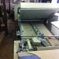 MBO B30 Folder - 4/4/4 with gate fold unit