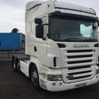 2007, Scania R480 Highline 6x2 Tractor Unit, Reg. No. PN57 UAB c/w Double Sleeper Cab, Opticruise, Twin Tanks, *KMS 860,817 approx.* *MOT until January 2016* (V5 to follow)